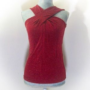 Michael Kors Cinnabar sleeveless top small